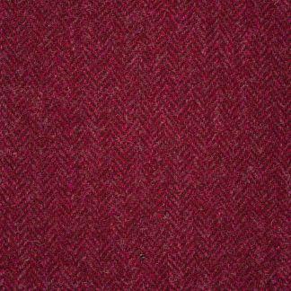 Cordings Wine Roxby Harris Tweed Tailored Waistcoat  Different Angle 1