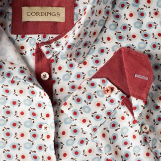 Cordings Peonies Viscose Shirt Different Angle 1
