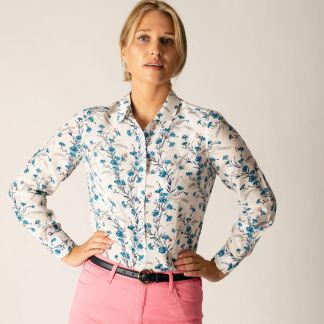 Cordings Downshire Hill Liberty Silk Crepe Shirt Different Angle 1