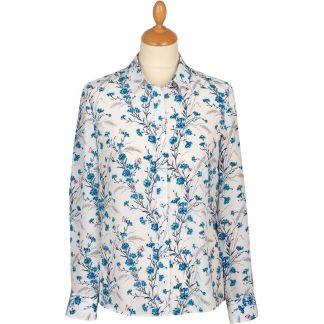 Cordings Downshire Hill Liberty Silk Crepe Shirt Main Image