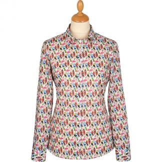 Cordings Birds of Paradise Liberty Cotton Shirt Main Image
