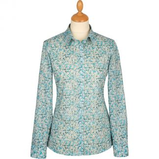 Cordings Petal Wish Liberty Cotton Shirt Main Image