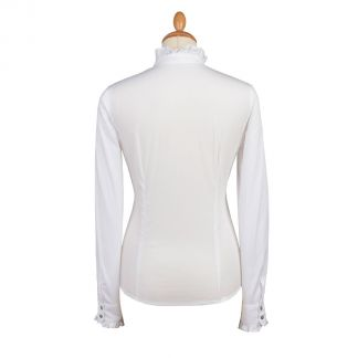 Cordings Frill Collared Shirt Different Angle 1