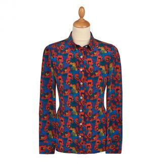 Cordings Jemma Rose Liberty Crepe Silk Shirt Main Image