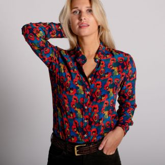 Cordings Jemma Rose Liberty Crepe Silk Shirt Different Angle 1