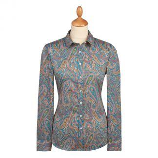 Cordings Paisley Park Tana Lawn Liberty Shirt Main Image