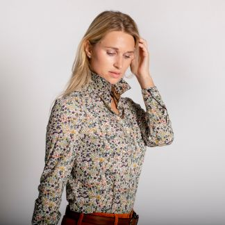 Cordings Wiltshire Liberty Cotton Shirt Different Angle 1