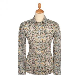 Cordings Wiltshire Liberty Cotton Shirt Main Image