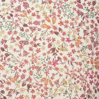 Cordings Peach Donna Leigh Liberty Cotton Shirt Different Angle 1