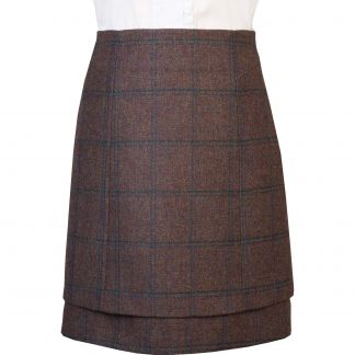 Cordings Ramsey Tweed Layered Tweed Skirt Main Image