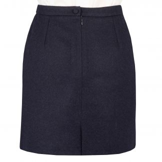 Cordings Loden Navy Short Skirt Different Angle 1