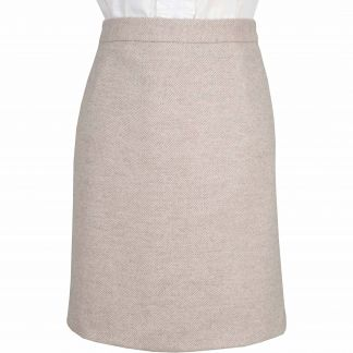 Cordings Lancing Herringbone Tweed Short Skirt Main Image