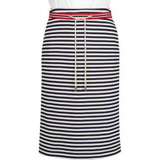 Cordings Stripe Nautical Pencil Skirt Main Image