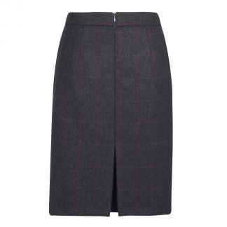Cordings Shaftesbury Tweed Pencil Skirt Different Angle 1