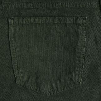 Cordings Olive Babycord Slim Jeans Different Angle 1