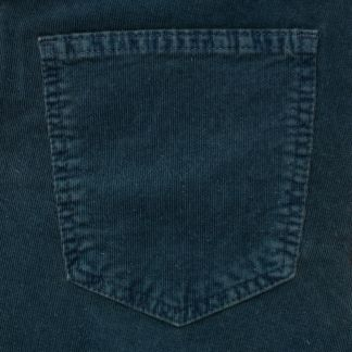 Cordings Teal Babycord Slim Jeans Different Angle 1