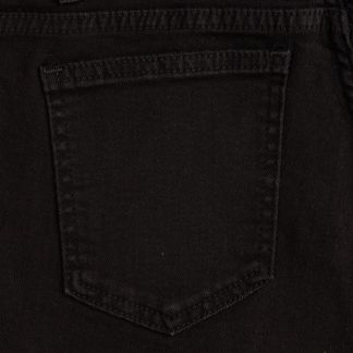 Cordings Black Stretch Jean Different Angle 1