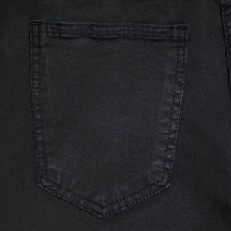 Cordings Black Noir Stretch Cotton Slim Leg Trousers Different Angle 1