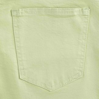 Cordings Lime Stretch Cotton Slim Leg Trousers  Different Angle 1