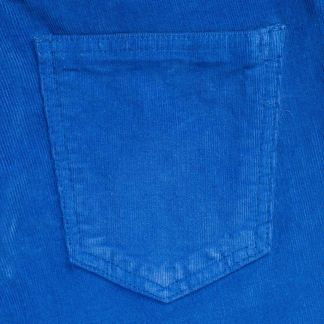 Cordings Royal Blue Stretch Needlecord Jeans  Different Angle 1