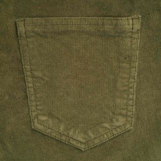 Cordings Moss Green Stretch Needlecord Jeans  Different Angle 1