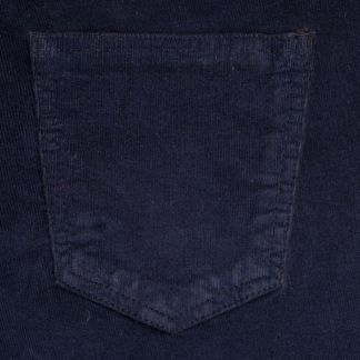 Cordings Navy Stretch Needlecord Jeans  Different Angle 1