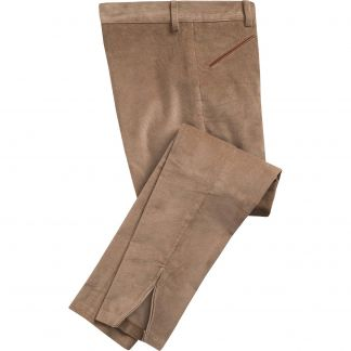 Cordings Tan Beige Stretch Needlecord Jodhpurs Main Image