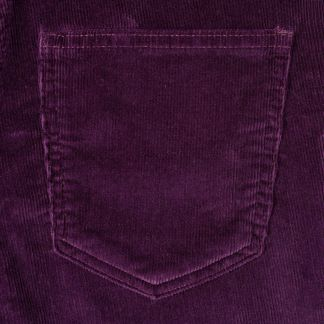 Cordings Purple Soft Stretch Needlecord Jeans Different Angle 1