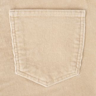 Cordings Beige Soft Stretch Needlecord Jeans  Different Angle 1
