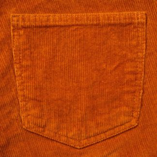 Cordings Orange Stretch Corduroy Trousers Different Angle 1