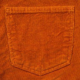 Cordings Orange Corduroy Trousers Different Angle 1