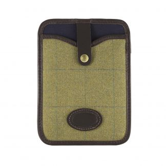 Cordings House Check and Leather iPad Mini Cover Main Image