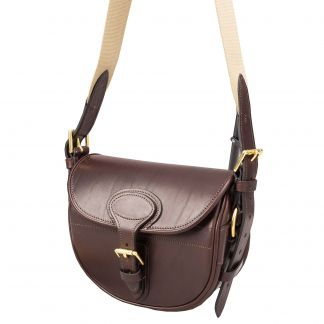Cordings Bridle Leather 75 Cartridge Bag Main Image