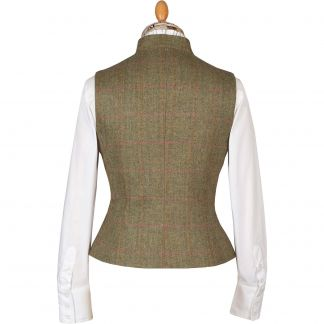 Cordings Green Chertsey Fitted Waistcoat Different Angle 1
