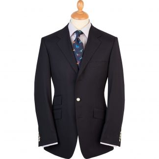 Cordings Navy Single Breasted Serge Blazer Main Image