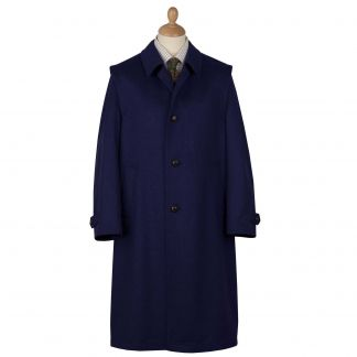 Cordings Navy Austrian Loden Coat Main Image