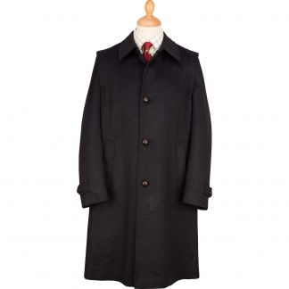 Cordings Charcoal Austrian Loden Coat Main Image