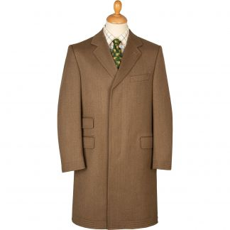 Cordings Fawn Original Covert Coat Main Image