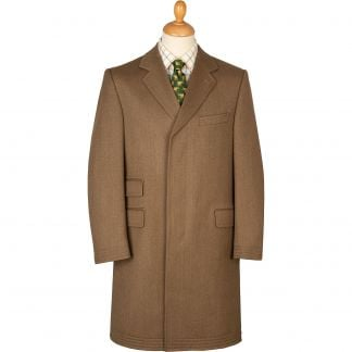 Cordings Fawn Original Covert Coat Main Image