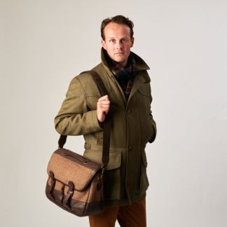 Cordings Hunting Tweed Working Bag Different Angle 1
