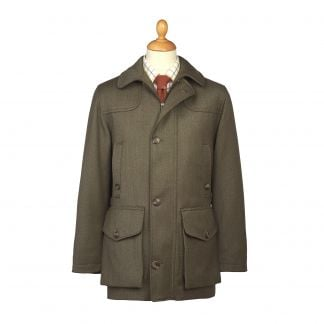Cordings Hunter Green Chepstow Keepers Field Coat Main Image