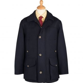 Cordings Navy Chepstow Keepers Field Coat Main Image