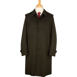 Cordings Green Loden Austrian Lined Hubertus Coat  Main Image