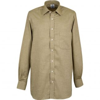 Cordings Sage Green Royal Brushed Shirt Different Angle 1