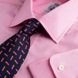 Cordings Pink Buckland Twill Shirt Main Image
