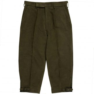 Cordings Green Moleskin Plus Twos Shooting Breeks Main Image