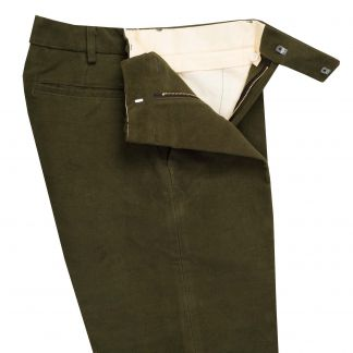 Cordings Green Moleskin Plus Twos Shooting Breeks Different Angle 1