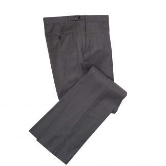 Cordings Mid Grey 10oz Two Button Sharkskin Suit Different Angle 1