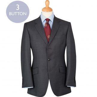 Cordings Grey 10oz Three Button Birdseye Suit Main Image
