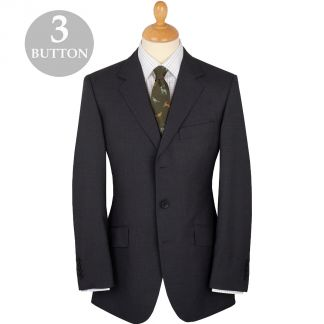 Cordings Grey 8oz Three Button Bower Mohair Suit Main Image